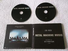 Rare, ZEITKRATZER & LOU REED - Metal Machine Music, 2x CD & DVD US 2007, ASP3002