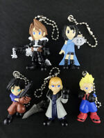 Final Fantasy VIII FF8 Swing Figure Key Chain Complete set of 5 Bandai