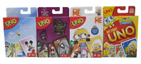 Mattel - Uno card games in different themes for kids and fans, Family Game NEW