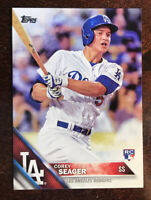 2016 Topps Series 1 #85 Corey Seager Rookie Card Los Angeles Dodgers RC