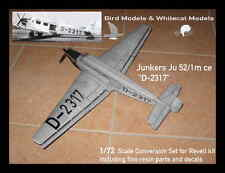 "Junkers Ju 52/1m ce ""D-2317""  1/72 Bird Models Resinumbausatz / resin conversion"