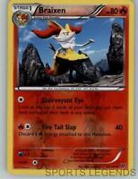 2014 pokemon XY reverse holo Braixen 25/146