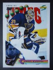 NHL 181 Curtis Joseph St. Louis Blues Score 1994/95