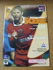 12/09/1995 Blackpool v Bournemouth  (Item in very good condition, no obvious fau