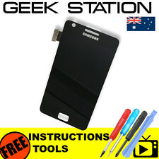 for Samsung Galaxy S2 II LCD i9100 LCD touch screen digitizer replacement black