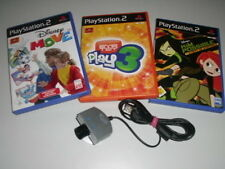 PLAYSTATION 2 PS2 SPIELE EYE TOY PLAY KAMERA DISNEY MOVE KIM POSSIBLE