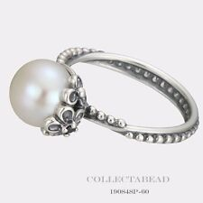 Authentic Pandora Sterling Silver Garden Odyssey Ring Size 50 190848P