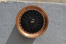 Set of 4 Wheels 18 inch Matte Black Bronze Lip Rims fits FORD MUSTANG 2000-2018