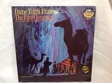 Dame Edith Evans THE FIRST CHRISTMAS GW245 Golden LP
