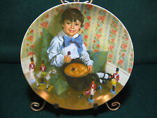 """Reco Mother Goose Series Collector Plate """"Little Jack Horner"""""""