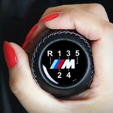 BMW LEATHER M TECHNIC TRI COLOR GEAR SHIFT KNOB E24 E28 E30 E34 E36 E46 M3 M5 M6