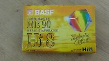 Cassette Tape Factory Sealed BASF Profi Master ME 90 Metal Evapored Hi 8