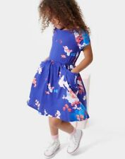 Joules Summer Blue Dresses (2-16 Years) for Girls