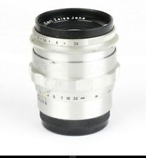 Lens   Zeiss Biometar 2.8/80mm Red T for Contax S Pentax M42