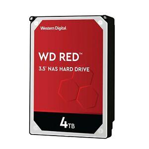 4TB Western Digital red WD40EFAX RAID Intern sATA3 Festplatte 256MB Cache