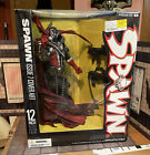 """Spawn 12"""" Deluxe Action Figure Statue McFarlane 2006 Issue 7 Cover Art NIB For Sale"""