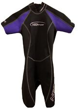 Neosport Wetsuit 2/0 MM Women's Size 4 Black & Purple