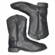 Ariat Heritage Roper Western Black Womans 9B Boots