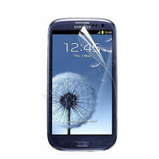 2x Clear LCD Screen Protector Guard Film Cover for Samsung galaxy s3 + cleancloth