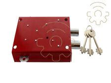 serratura di ricambio per armadio portafucili fuciliera Toro a 2 posti