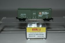 Z Scale MTL 50200162 British Columbia Rail 40' Single Door Boxcar 8006 C8845