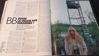 Revista Brigitte Bardot París Match N º 2533-2110 Noviembre 1989 Tbe
