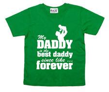 Vêtements t-shirt vert pour fille de 5 à 6 ans