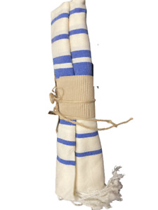 `Turkish Cotton Towel Beach Bath Gym Hammam Peshtemal Pink Blue Striped