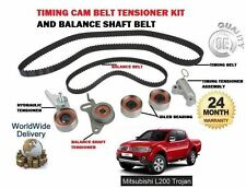 FOR MITSUBISHI L200 TROJAN 2.5DT DID 2006--> TIMING CAM BELT + BALANCE SHAFT KIT