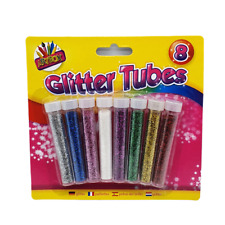 48x ArtBox Tubes of Kids Children's Multi Colour Craft Glitter Arts & Crafts