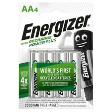 ENERGIZER AA 2000mAh RECHARGEABLE BATTERIES PLUS POWER PRECHARGED NIMH BATTERY
