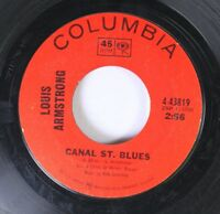 Jazz 45 Louis Armstrong - Canal St. Blues / Cabaret On Columbia