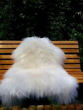 Icelandic sheepskin rug colour white/ivory120-70cm1