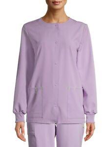 Scrubstar Ethical Fabric Solid Color Women's Medical Nurse Scrub Warmup Jacket