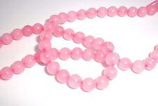 "6mm Round Rose Quartz (dyed) C Grade, Mohs Hardness 7, Beads - 16"" Strand"