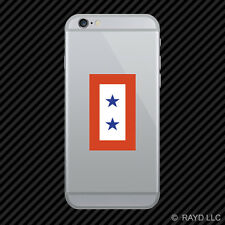 Two Blue Stars Service Flag Cell Phone Sticker Mobile Die Cut