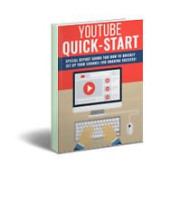 YouTube Quick Start Pack - Plr - Pdf eBooks Free Shipping by eMail