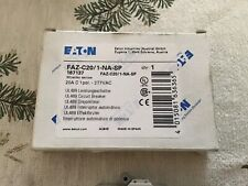 Eaton Circuit Breaker Pt.-Faz-C20/1-Na-Sp Brand New