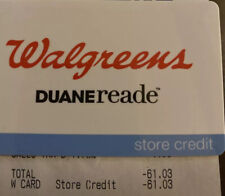 Walgreens Store Credit Of $61.03