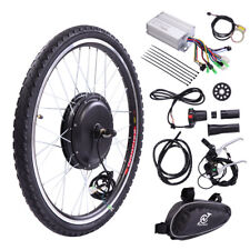 "36V 500W 26"" Front Wheel Electric Bicycle Ebike Motor Cycling Conversion Hub Kit"