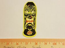 VTG 80's SANTA CRUZ ROB ROSKOPP FACE MELT MISPRINT NOS SKATEBOARD DECK STICKER !