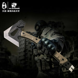 Tactical Tomahawk Downrange Rescue Axe Hammer New Multifunction Camping Outdoor