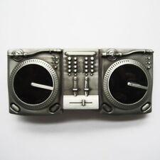 DJ Music Turntables Metal Fashion Belt Buckle