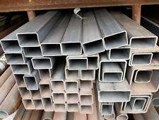 Vierkantrohr Rechteckrohr Quadratrohr Stahl 20 x 20 mm - 120 x 120 mm DIN 2395