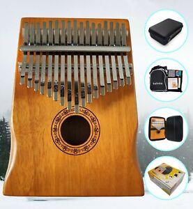 Kalimba 17 Keys Thumb Piano - High-Quality - Wood Mahogany - Musical Instrument