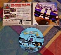 Test Drive 6 Racing  ~ Sega Dreamcast Good Working Condition COMPLETE