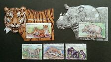 Malaysia Wildlife Conservation 2019 Tiger (stamp ms) MNH *metallic *odd *unusual