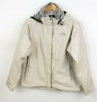 THE NORTH FACE Women HyVent Waterproof Hooded Jacket Coat Size L ABZ413