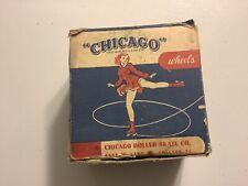 Chicago Roller Skate Wheels 78SP Vintage W/ Box