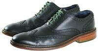 Cole Haan Men's Wingtip Dress Shoes Size 12 Leather Black